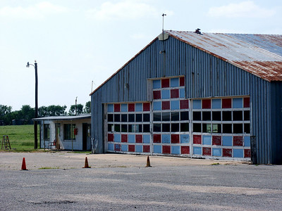 Building at Cook airfield - southeast Sedgwick County