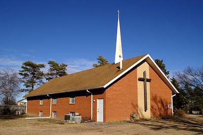 Anchor Baptist Church in eastern Sedgwick County