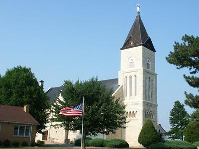 St Mark's Catholic Church - western Sedgwick County