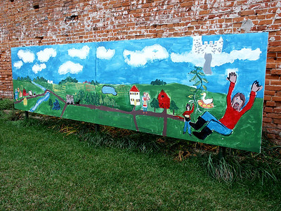 Mural in downtown Mt Hope
