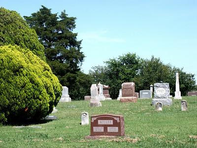 Waco Cemetery - southern Sedgwick County