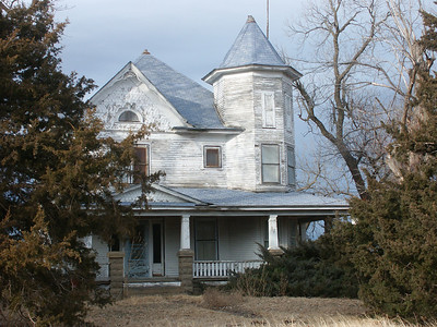 Abandoned farm house - central Stafford County
