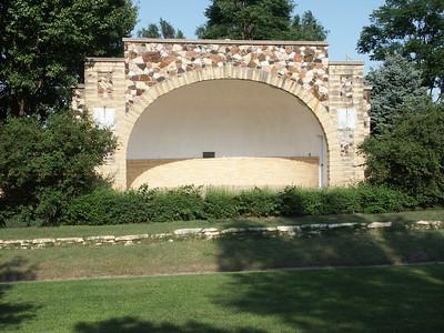 Bandshell in city park - Macksville