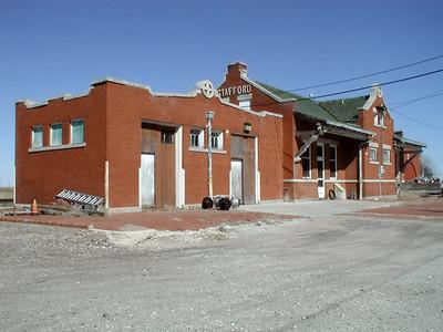 Former Santa Fe Depot at Stafford