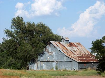 Barn in northwest Stafford County