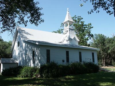 Antrim Methodist Church - central Stafford County
