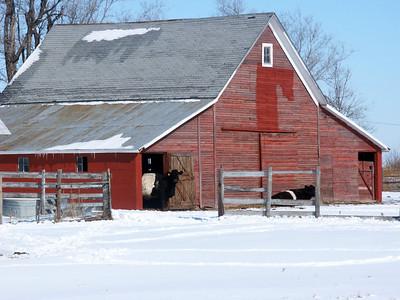 Barn near St John