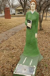 Statue at Sunnyside Baptist church