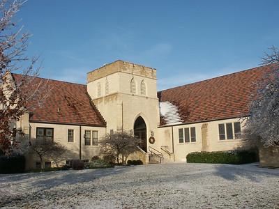Grace Presbyterian Church on east Douglas in College Hill neighborhood.