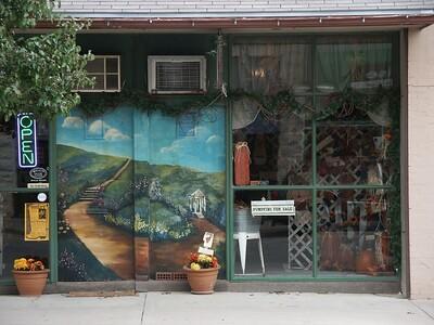 """Off the Beaten Path"" mural"