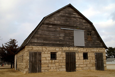 Calvary barn in Swope Park - Cottonwood Falls