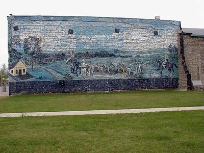 Mural in Grenola