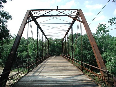 1893 Iron Truss Bridge at Elk Falls