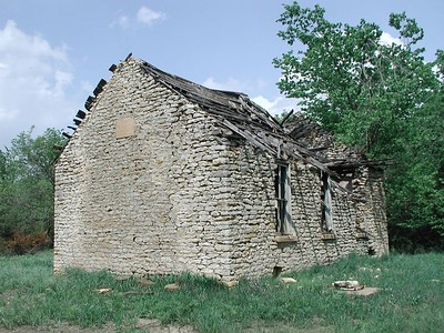 Remains of Hartford School northeast of Longton