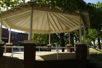 Bandshell on courthouse square