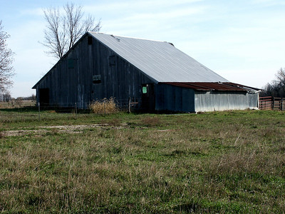 Old barn in Lyon County