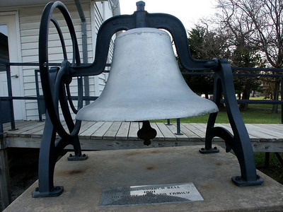 Methodist church bell in Admire