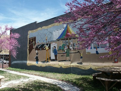 Carnival Mural - downtown Kinsley