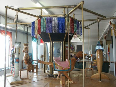 Merry-Go-Round - Carnival Heritage Museum - Kinsley