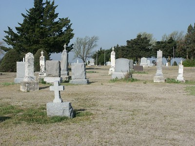 Hillside Cemetery near Kinsley