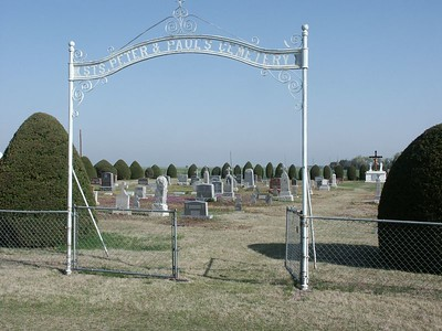 St Peter & Paul School Cemetery of Kinsley