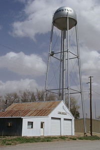 Hanston water tower
