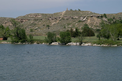 Lake Scott and hillside