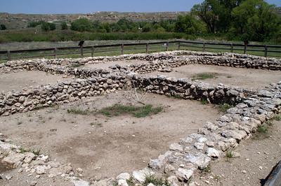 El Cuartelego Pueblo ruins