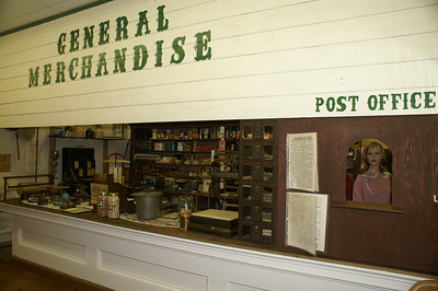 General Store Display at Meade County Museum in Meade