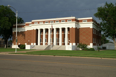 Meade County Courthouse - downtown Meade