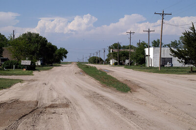 Main Street in Modoc