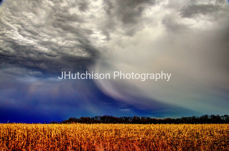 February Storm on the Plains