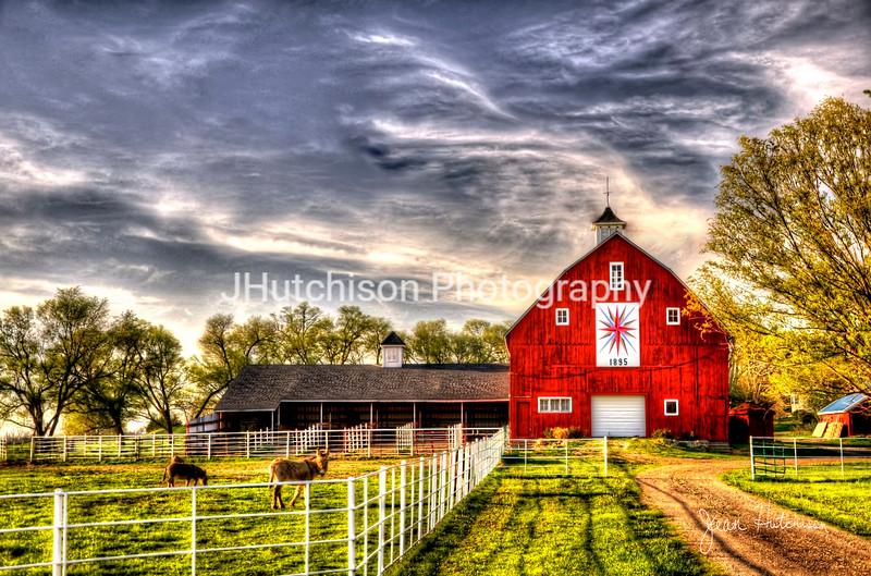 The Watcher and the Red Barn