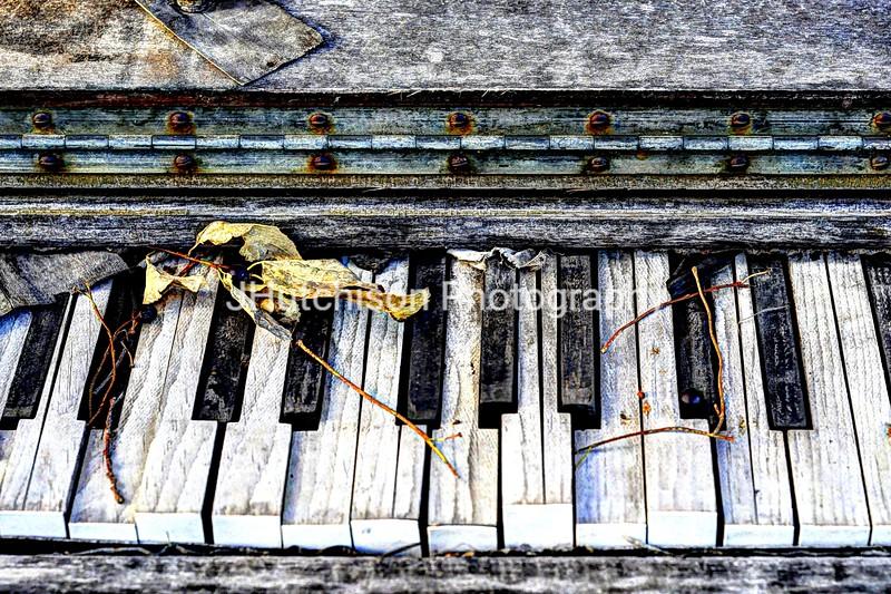 Weathered Keyboard