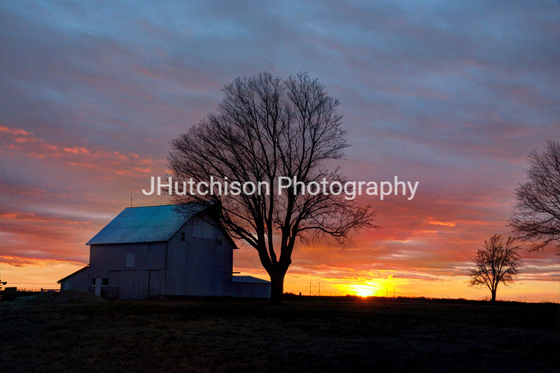 DG0023 - Colorful Winter Sunset