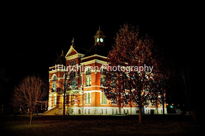 OTT0006 - Franklin Co Courthouse at Night