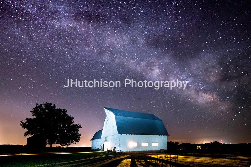 Starry Night at Kelsey Creek Farm