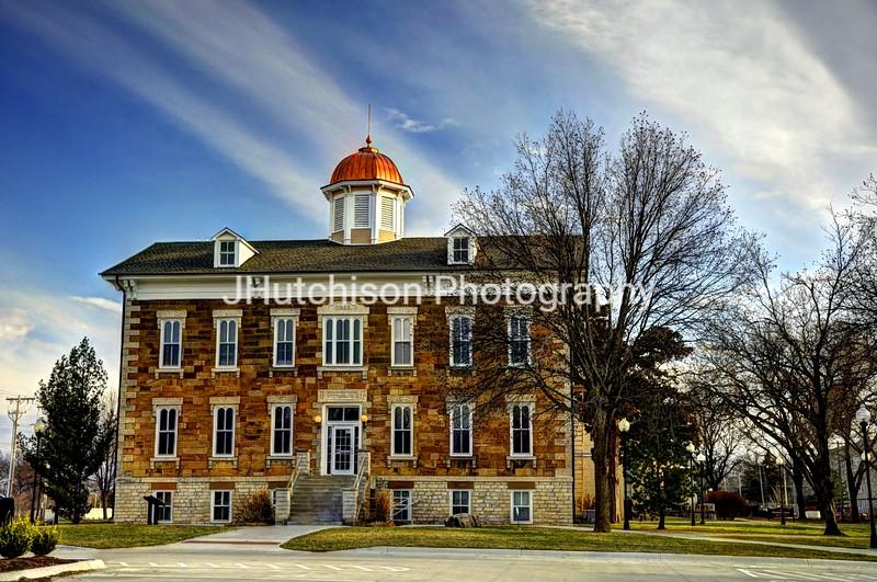 Tauy Jones Hall on Ottawa University Campus