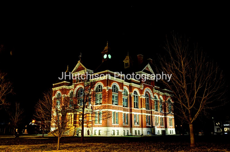 OTT0003 - Franklin County Courthouse Christmas