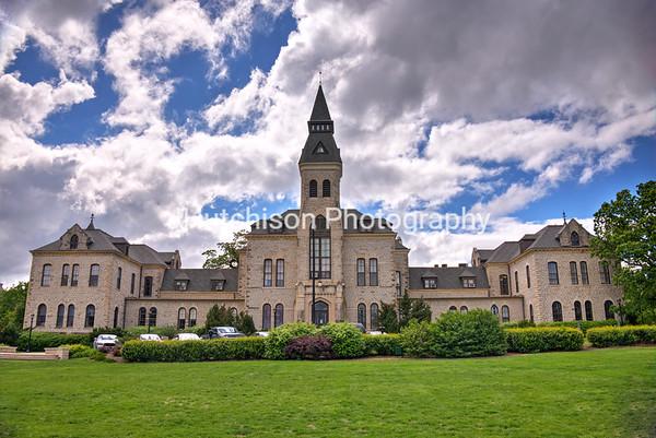 KSU0016 - Anderson Hall in Spring