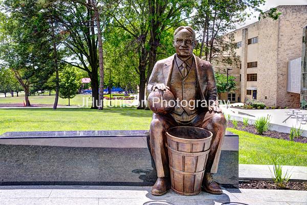 KU0023 - James Naismith - The Father of Basketball