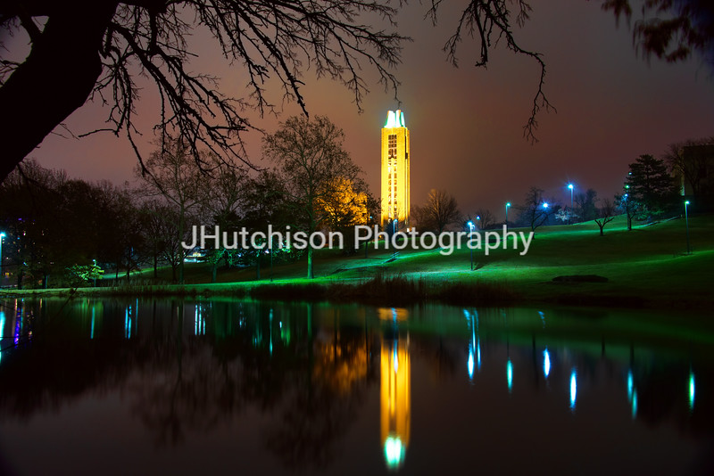 KU0013 - KU Campanile at Night