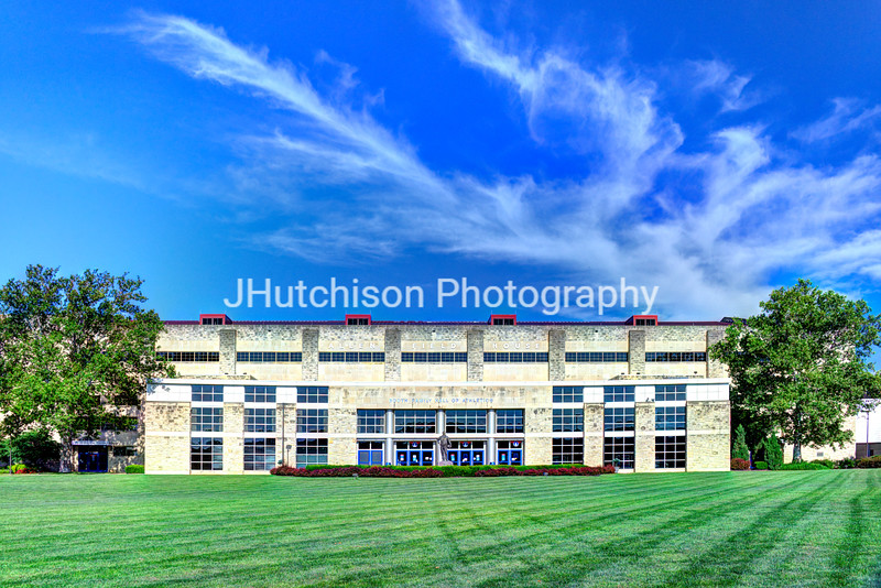 KU0030 - Allen Fieldhouse In Summer