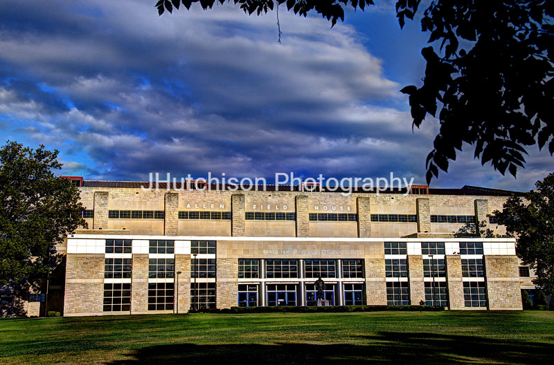 KU0012 - Allen Fieldhouse at Sunrise