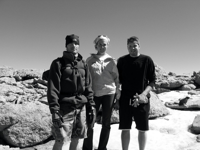 We made it!<br /> <br /> Longs Peak 2005