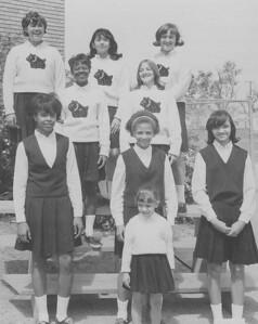Cheerleaders of 1966-67