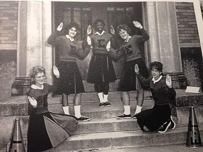 1963 Cheerleaders