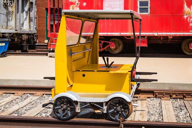 Small Portable Rail Transport