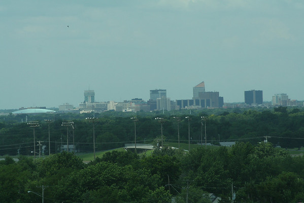 Witchita Skyline from aviation Museum
