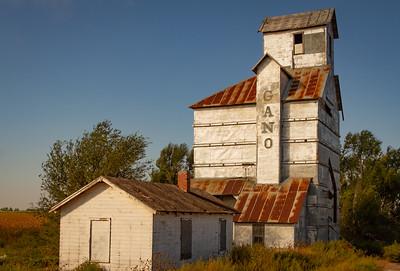 Old Grain Elevators along Rt. 50